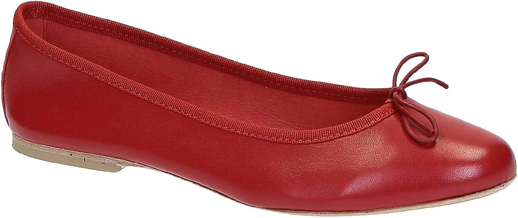 Calf Leather Ballerina Shoes