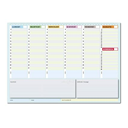 True Colors Limited Edition - Planner Semanal 42 X 30 ...