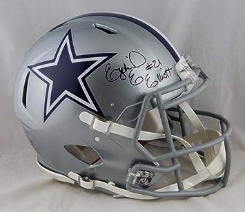 f36928337b3 Image Unavailable. Image not available for. Color: Ezekiel Elliott Signed  Cowboys ...