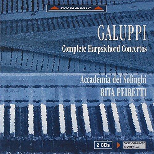 Galuppi: Complete Harpsichord Concertos / Peiretti, et al