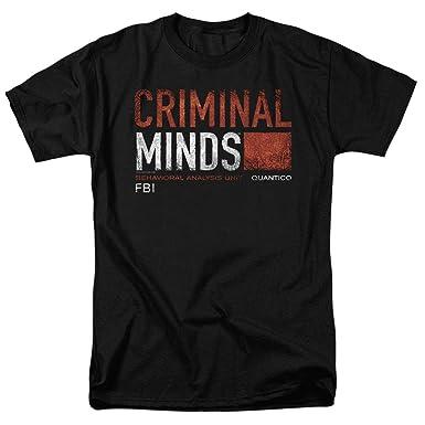 e06e394b3870c Amazon.com: Criminal Minds FBI CBS T Shirt: Clothing