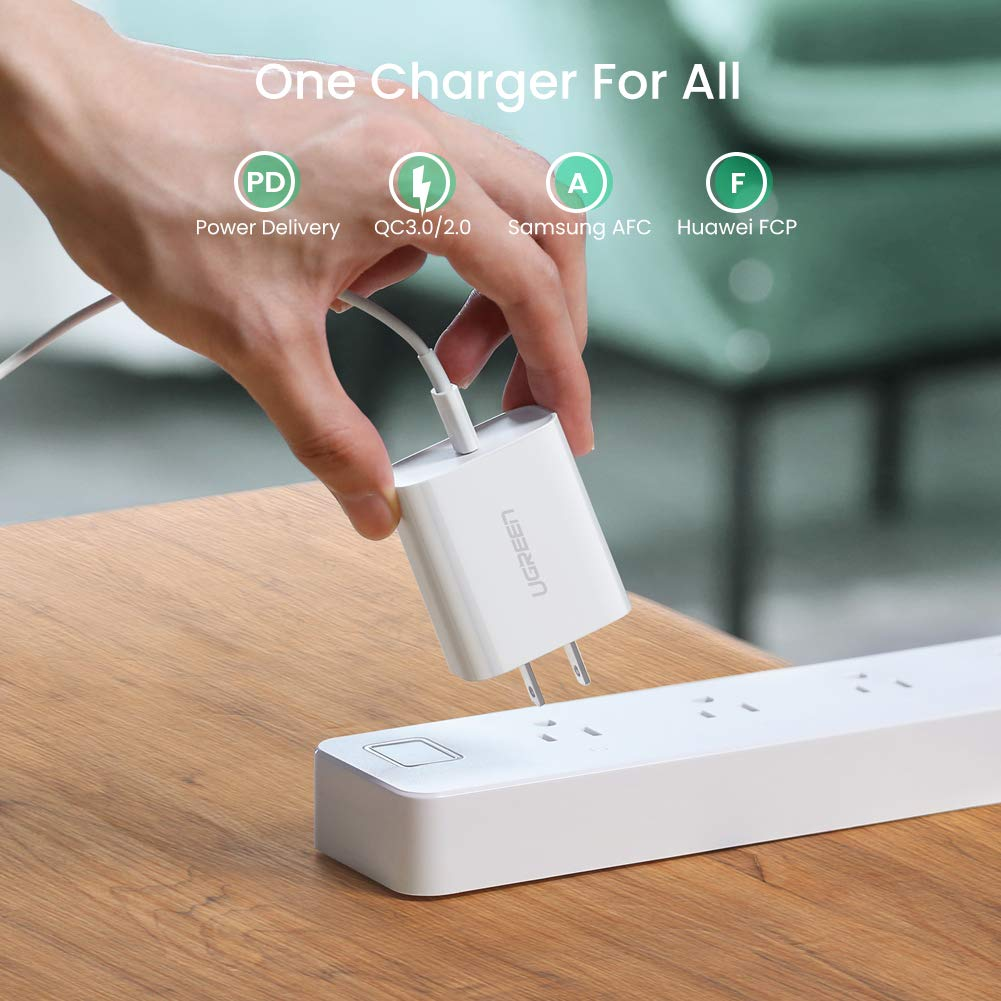 Amazon.com: UGREEN - Cargador USB C para iPhone 11 Pro Max ...