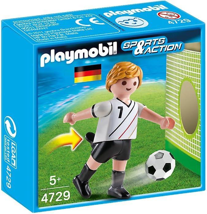 Playmobil Fútbol - Fútbol: Jugador Alemania (4729): Amazon.es ...