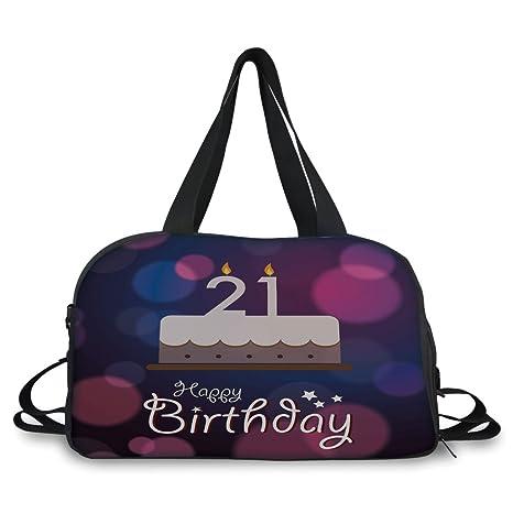 Amazon IPrint Travel Handbag21st Birthday DecorationsHappy