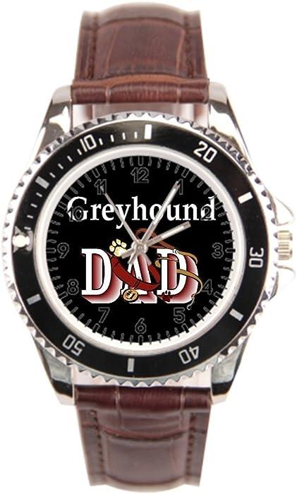 cnbluer muñeca relojes Marcas Dad perros por Dezign los Galgos mejor reloj de pulsera