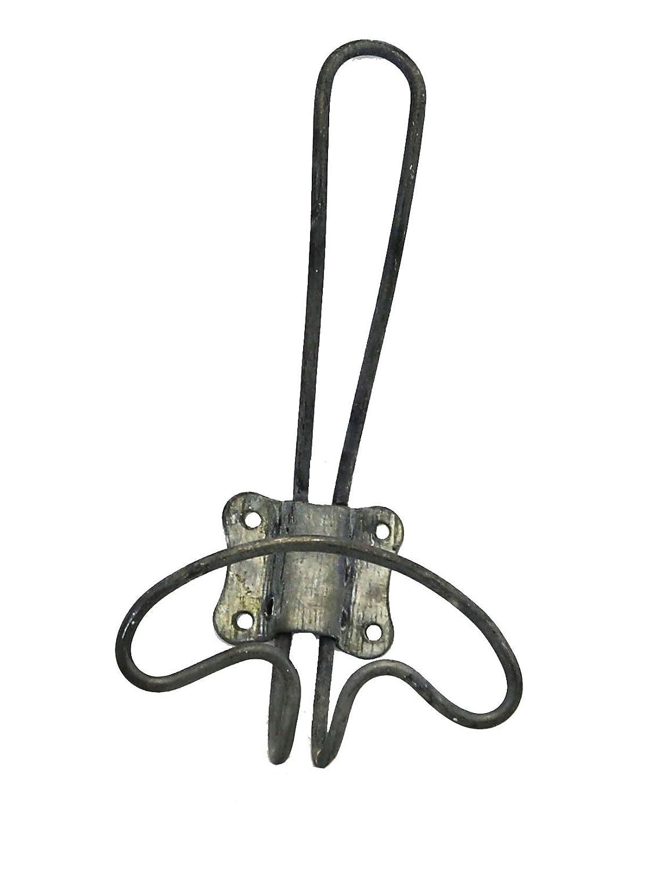 Amazon.com: Vintage Rustic Small Zinc Wire Coat Hat Towel Wall Hook ...