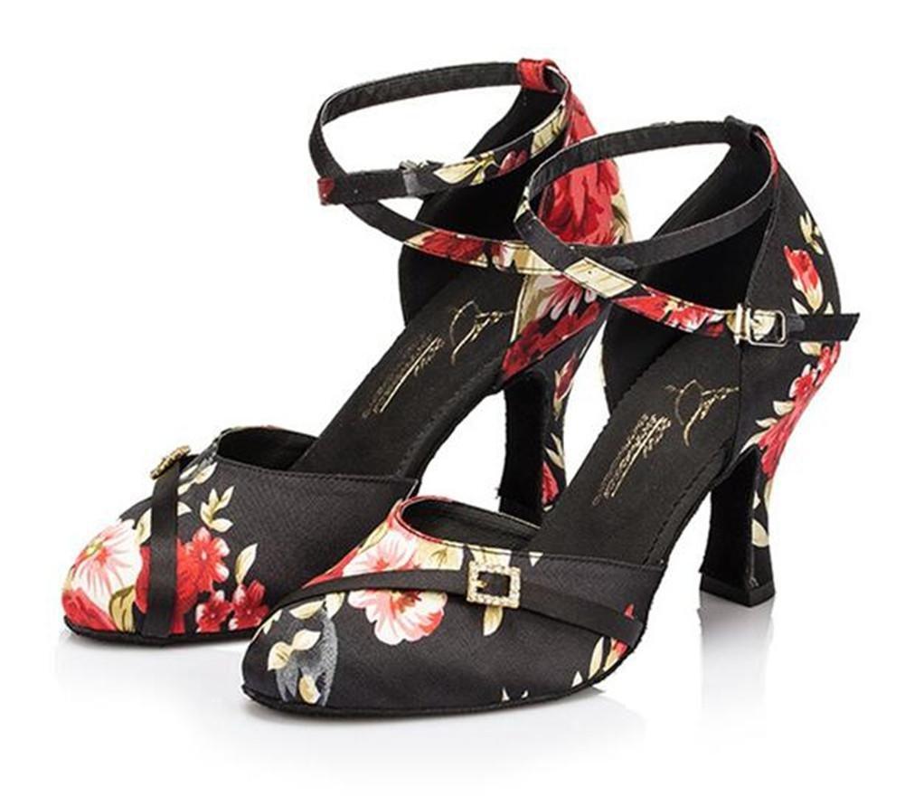 Frauen Schuhe Ballsaal Latein Taogo Tanz Pumpen Geschlossene Geschlossene Geschlossene Zehe Größe 35 bis 41 B07B1ZFJ8P Tanzschuhe Haltbar 331345