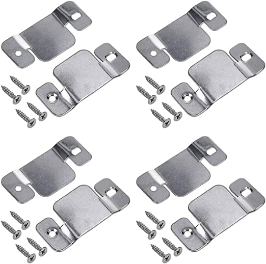 Hoowen Universal Metal Sectional Sofa Interlocking Furniture Connector Fastener Bracket With Screws Pack Of 8 Amazon Ca Home Kitchen