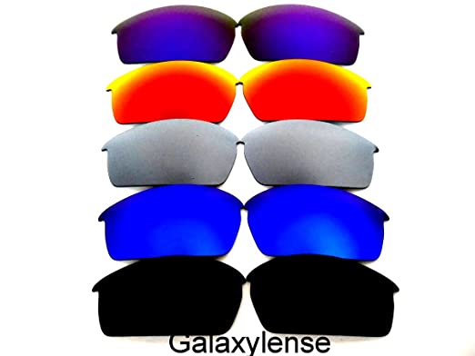 71ac676521 Galaxy Replacement Lenses For Oakley Bottle Cap  Black Blue Gray Red Purple
