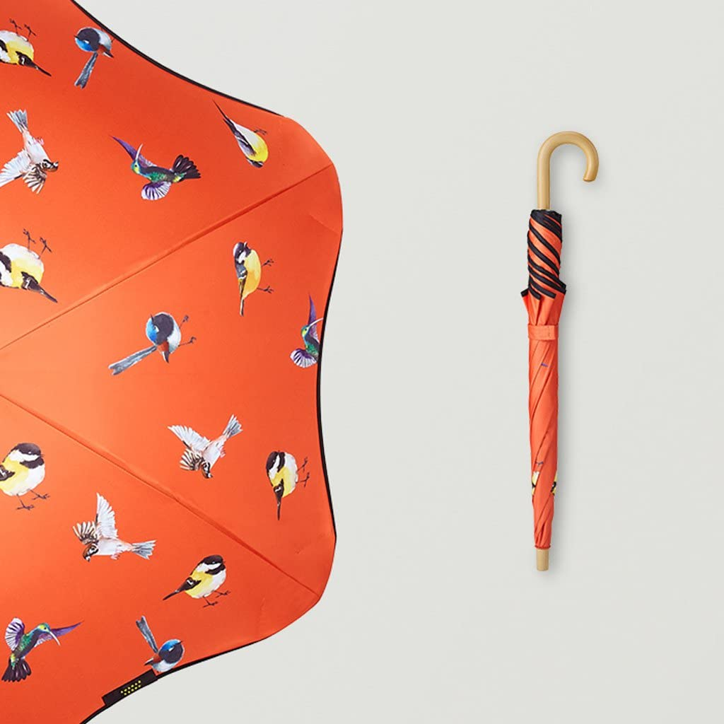 TLMY Childrens Umbrella Straight Sole Umbrella Sun Umbrella Umbrella Rain Umbrella Umbrella Color : Orange