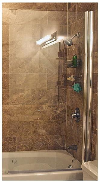 Ark Showers Semi Frameless Bathtub Shower Screen, Pivot Door, 70 X 33.5,