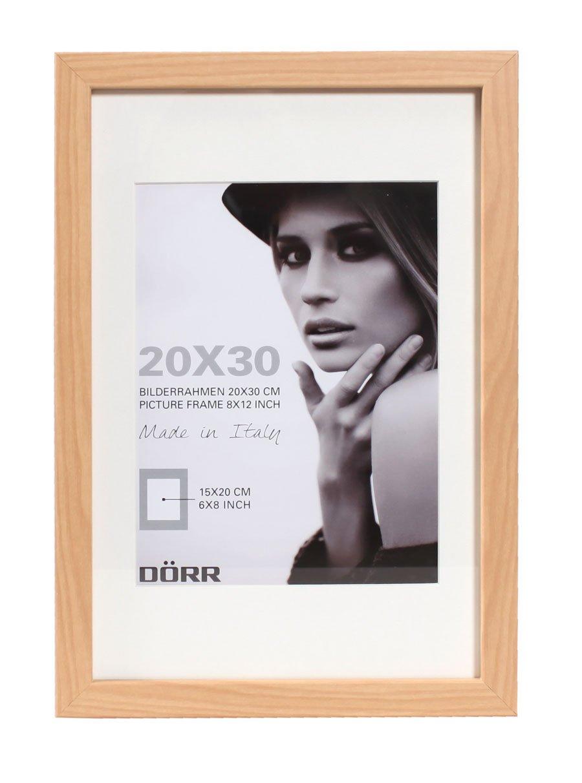 Dorr Wood Photo Frame with 16 x 12-Inch Insert, White, 20 x 16-Inch ...