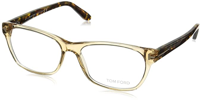 7d86c6540542 Image Unavailable. Image not available for. Color  TOM FORD Women s TF 5405  045 Clear Beige Clear Butterfly Eyeglasses 54mm
