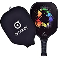 Pickleball Paddle - Graphite Pickleball Racket Honeycomb Composite Core Pickleball Paddle Set Ultra Cushion Grip Low Profile Edge Bundle Graphite Pickleball Paddles Racquet