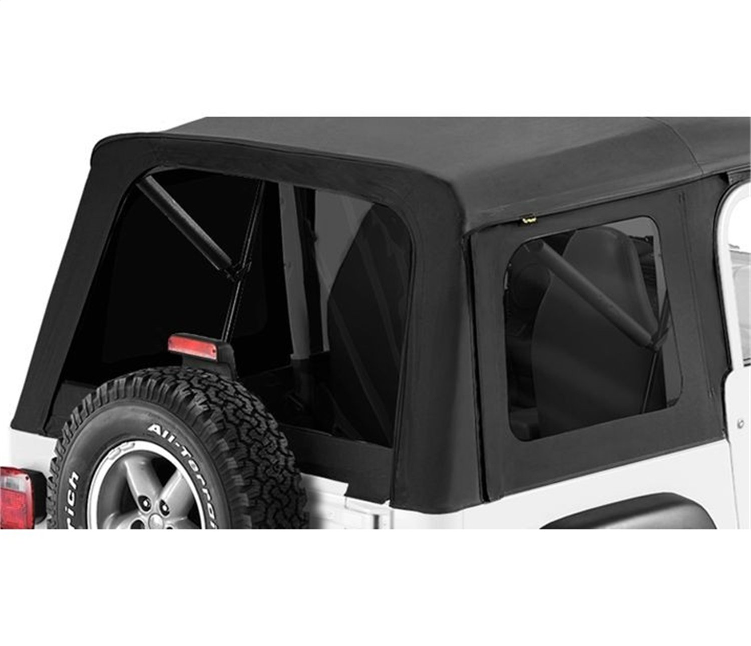 Bestop 58709-35 Black Denim Tinted Window Kit for Supertop for 1997-2006 Wrangler