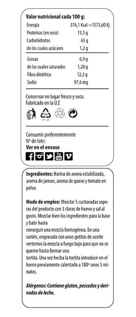 Max Protein Fitzza Harina de Avena - 2000 gr: Amazon.es: Salud y cuidado personal
