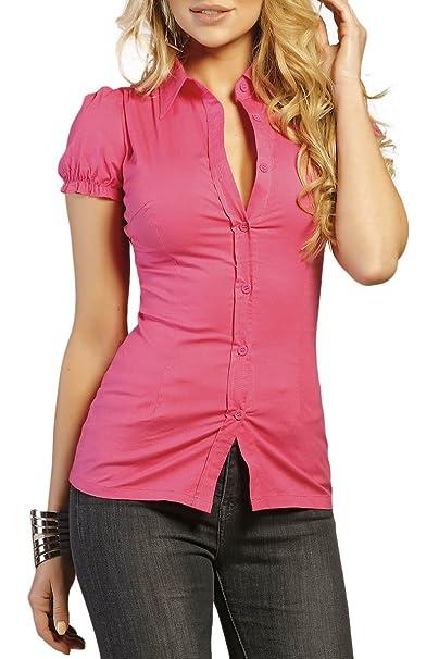 INFINIE PASSION - Camiseta - para mujer fucsia XL