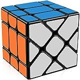 D-FantiX Yongjun Yileng Cube Fisher Cube 3x3 Speed Cube Puzzle Black