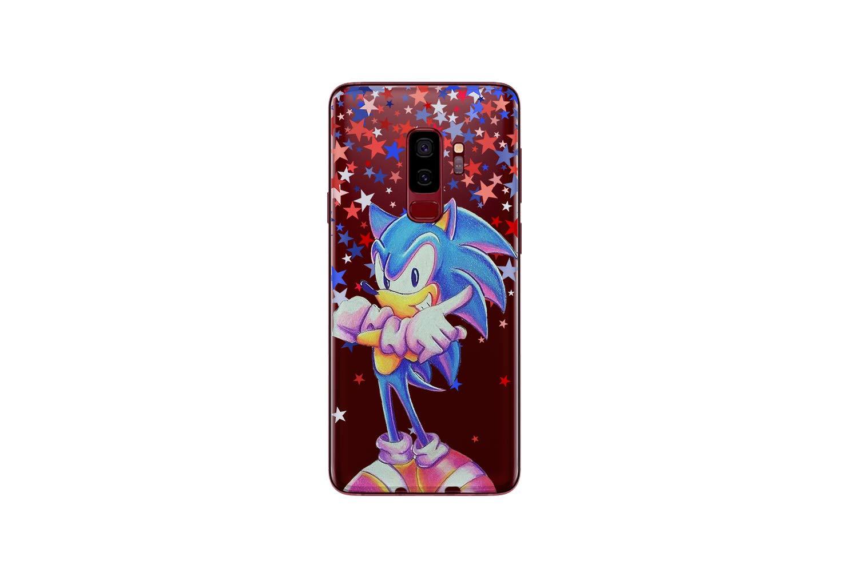 Koldan Sonic the Hedgehog Samsung Note 8 Note 9 Case Samsung S8 S9 S10 Sega Computer Game S10 5G S10e Silicone Case A9 A8 Plus A7 Clear Cover S10 Plus S9 Plus S8 Plus Samsung A30 A50 M30 M20 M10 md46