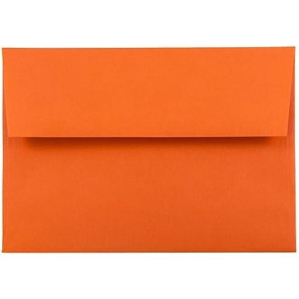 amazon com jam paper a6 colored invitation envelopes 4 3 4 x 6 1