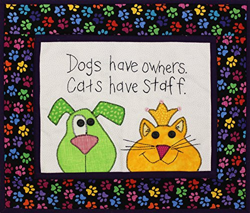 Patchwork Plus VA Dogs vs. Cats Mini Quilt Kit