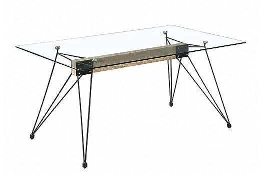 LIQUIDATODO ® - Mesa de comedor moderna y barata con estructura ...