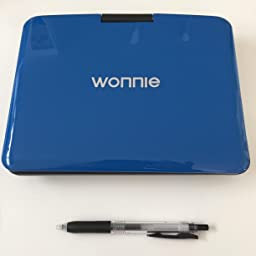 Amazon Co Jp Wonnie Portable Dvd Player Region Free Cprm Supported Sd Ms Mmc Card Usb Black Electronics Cameras
