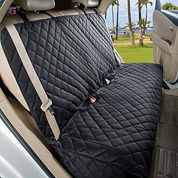 Astonishing Amazon Com Amazonbasics Waterproof Car Back Bench Seat Creativecarmelina Interior Chair Design Creativecarmelinacom