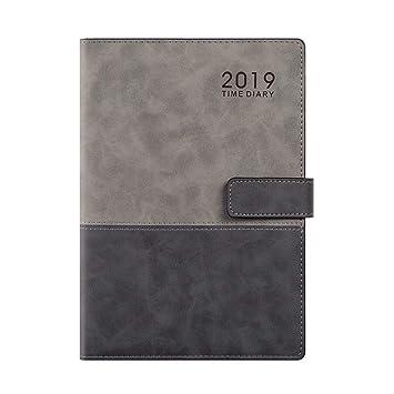 YWHY Cuaderno Agenda De Negocios Simple 2019 Día Del ...