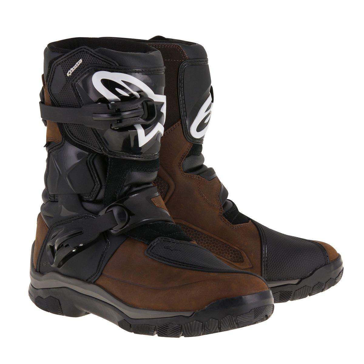 Alpinestars Belize Drystar Men's Street Motorcycle Boots - Brown Oiled Leather / 11