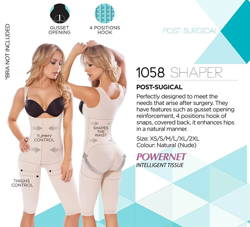4b06774b8a Moldeate 1058 Push UP and Tummy Control Shapewear at Amazon Women s  Clothing store