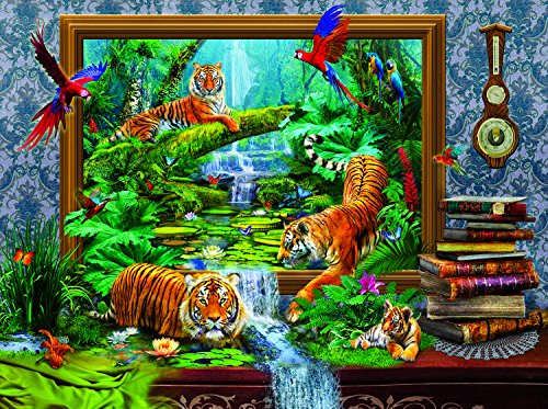 Out of the Jungle 1000 Piece Jigsaw Puzzle by SunsOut