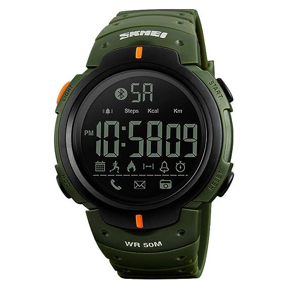 HImpermeable Inteligente Deportivo Relojes/Función Bluetooth/podómetro Deportes/Reloj Ajustable A Prueba De