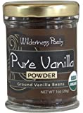 Wilderness Poets Organic Vanilla Powder - Madagascan Variety - 1 oz
