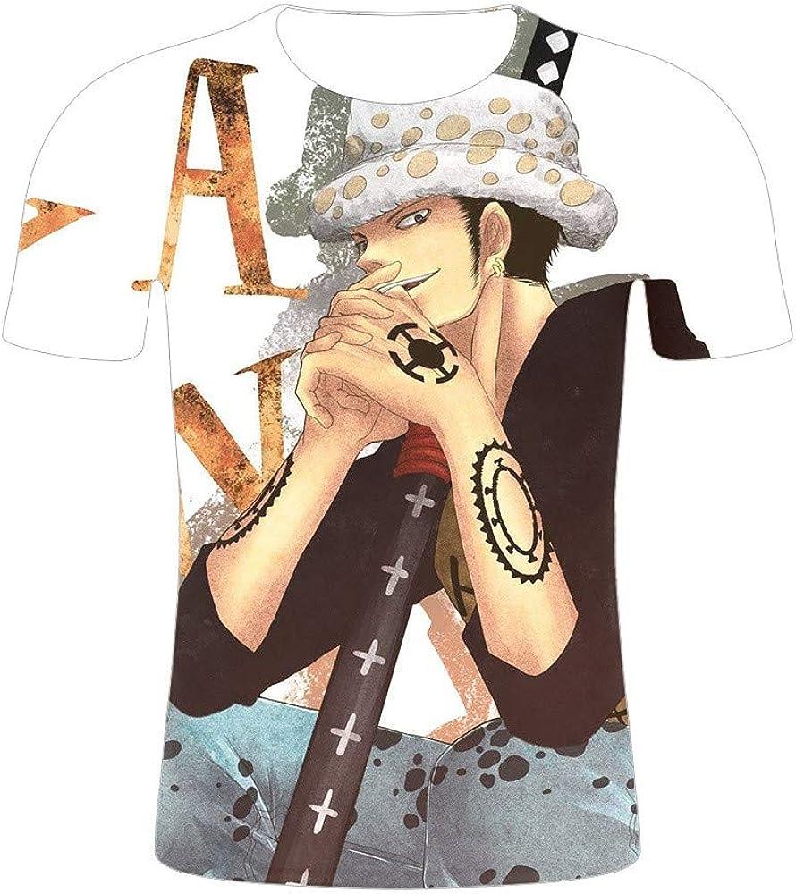 GOYING Camiseta Unisex de Manga Corta One Piece Trafalgar Law Contenido: impresión 3D, Otaku, Juegos de rol, cómics, Dibujos Animados: Amazon.es: Ropa y accesorios