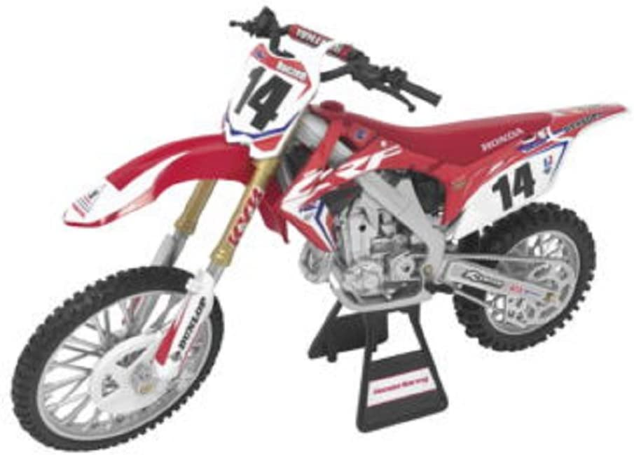 Team Honda HRC CRF450R 2017 New Ray Toys 57933 Offroad 1:12 Scale Motorcycle