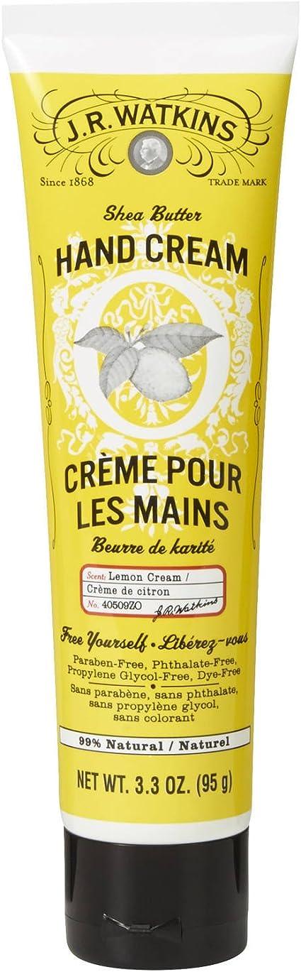 Hand Cream, 3.3 oz, Lemon Cream
