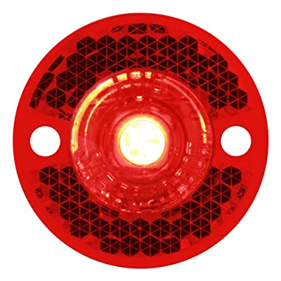 "Grand General (81782) 1-1/8"" Red LED Marker Light: Automotive"