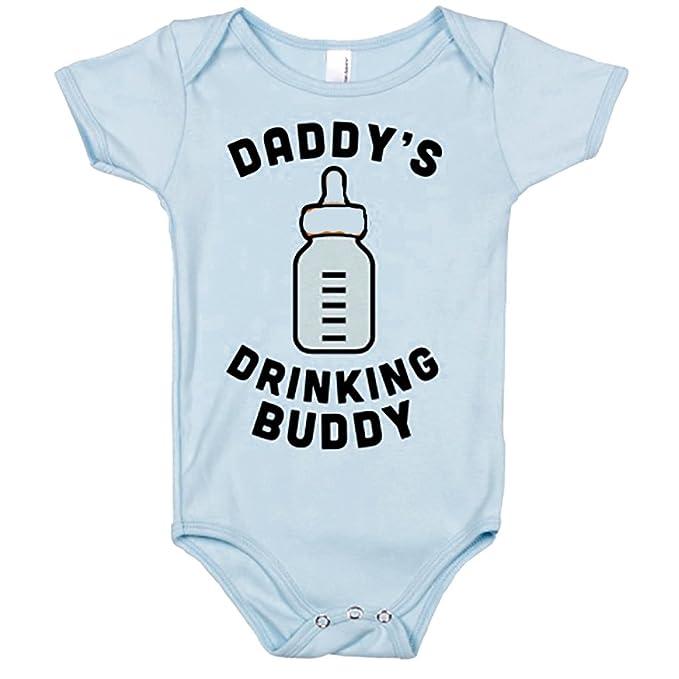Amazon.com: Daddy Buddy potable del bebé ropa Romper cuerpo ...