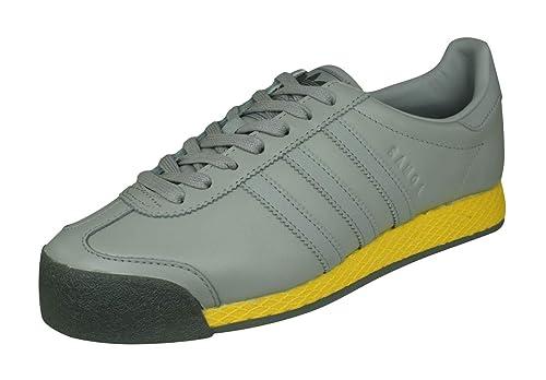 half off 471d7 f16db adidas Originals Samoa Vintage Zapatillas de Deporte para Hombres zapatos -Grey-42.67