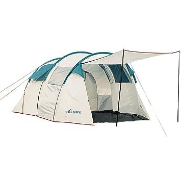 Semoo Tienda de campaña Resistente al Agua- con Dos cabinas para Dormir- 220 cm