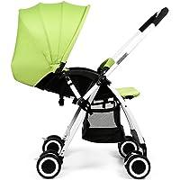 Peixia Department Store Passeggino in lega di alluminio 68 cm * 45 cm * 100 cm pieghevole portatile bambino può sedersi o sdraiarsi passeggino giocattolo del bambino
