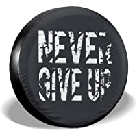 VTIUA Never Give Up Polyester Universal Dust-Proof Funda