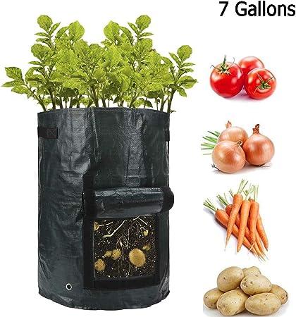 Fabric Grow Pots Breathable Vegetable Potato tomato mushroom Garden Plant Bags