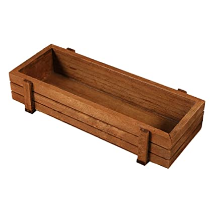 Outdoor Wooden Planter Boxes.Amazon Com Yosooo 2 Pcs Wooden Herb Flower Succulent