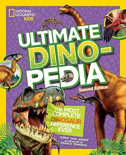 National Geographic Kids Ultimate Dinopedia, Second ()