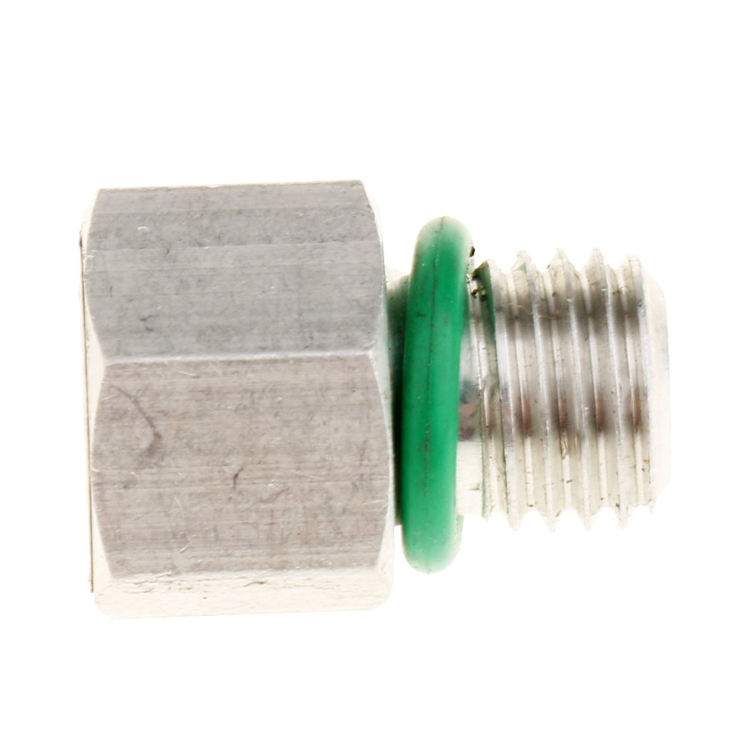 D DOLITY Air Conditioning Compressor 10mm Threaded Pressure Relief Valve