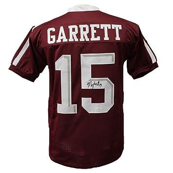 finest selection 33d92 db1d7 Myles Garrett Autographed Signed Texas A&M Home Jersey - JSA ...