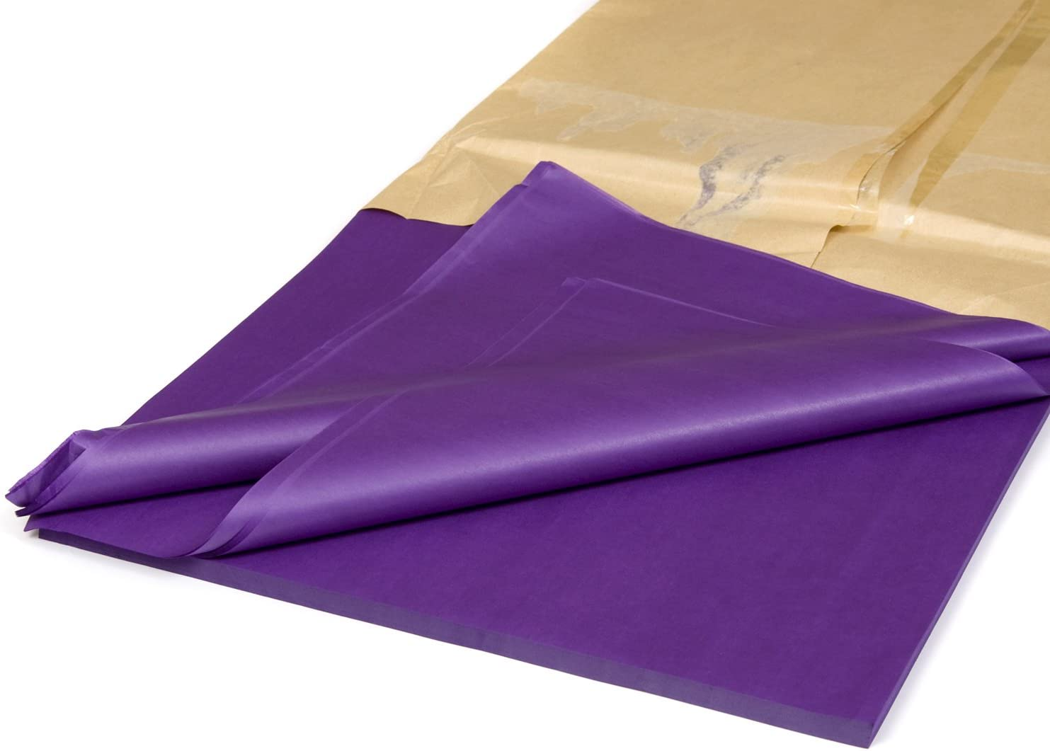 TISSUE PAPER SHEETS Acid Free 500mm x 750mm 17gsm Pack Gifts Wrap Royal Blue