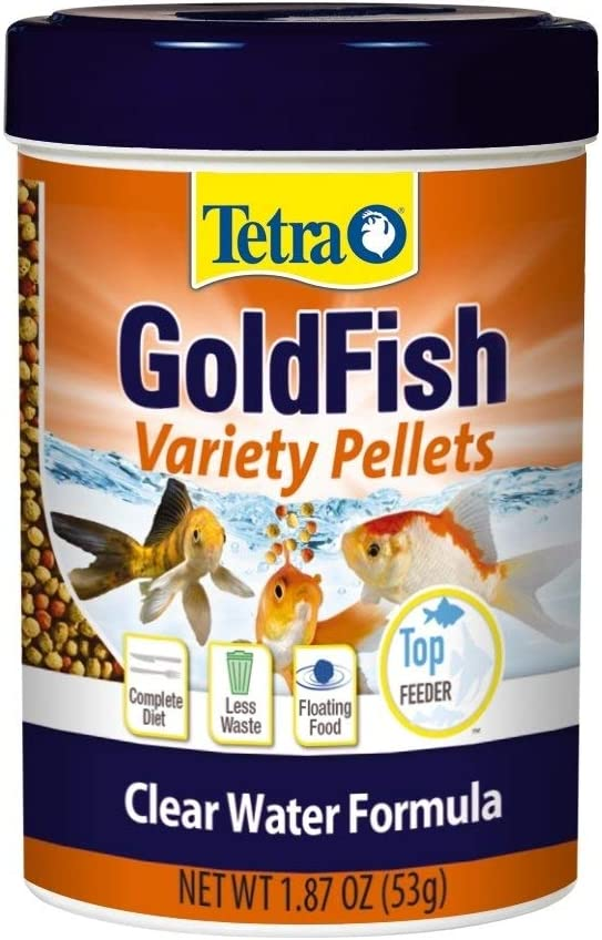 Tetra 77035 TetraFin Floating Variety Pellets, 1.87-Ounce, 370-ml